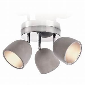 Deckenleuchten Spots Ideen : deckenleuchte bewegliche lampenschirme modern beton metall jetzt bestellen unter https ~ Markanthonyermac.com Haus und Dekorationen