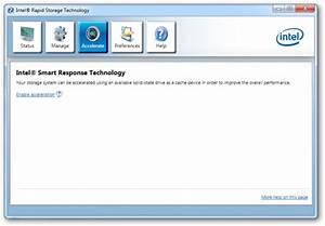Intel Rapid Storage Technology - vozForums
