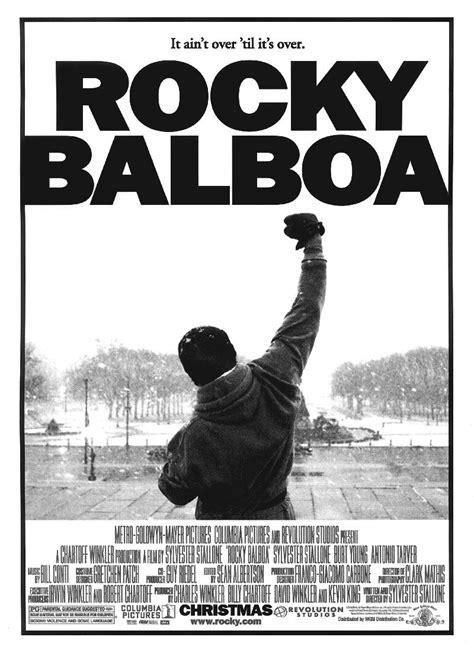 Buy Rocky Balboa Official Poster   Buy Movie   Motivational   Sports Posters   Posterduniya.com