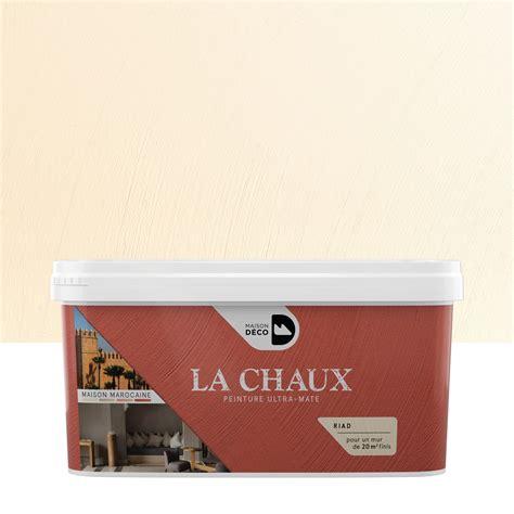 peinture 224 effet la chaux maison marocaine maison deco riad 2 5 l leroy merlin