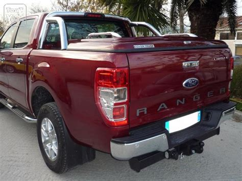 couvre benne pour ford ranger 2012 cab avec arceau d origine