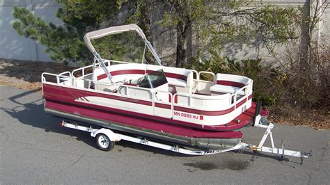 Used Pontoons Mn by T M Marine Grand Rapids Mn Pontoon Dealer Tahoe