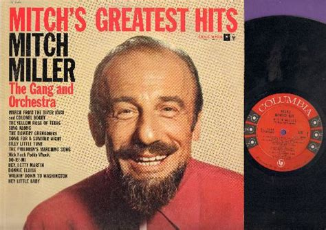 Mitch Miller Mitch's Greatest Hits Records, Lps, Vinyl And