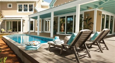 the trex pool deck designs worthy of a plunge trex