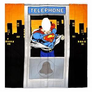 Duschvorhang Für Fenster : superman telefon box duschvorhang mit sichtfenster ebay ~ Markanthonyermac.com Haus und Dekorationen