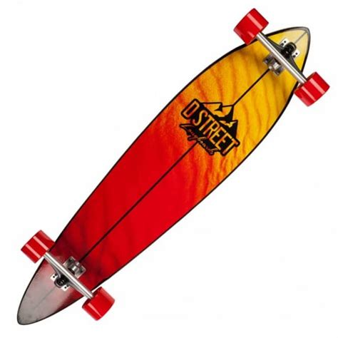 d skateboards d pintail dune yellow
