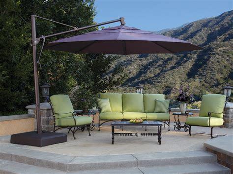 patio large cantilever patio umbrellas home interior design