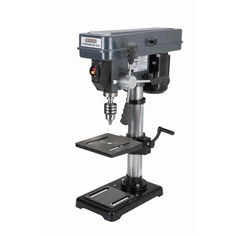 12 Speed 10in Drill Press 2503100 Rpm 12hp Mt2 Taper 35