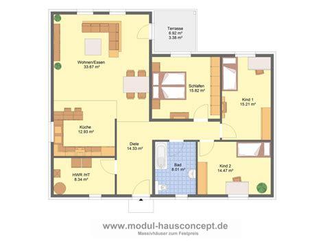 Bungalow Grundrisse 4 Zimmer  Ihr Traumhaus Ideen