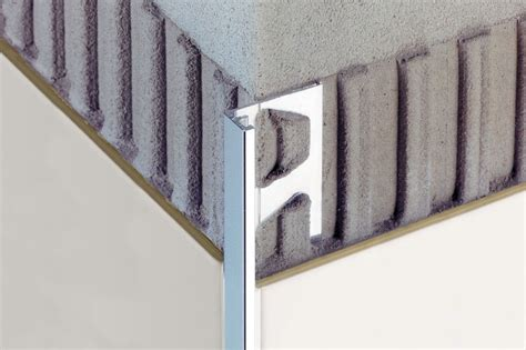 schluter 174 jolly edging outside wall corners for walls profiles schluter
