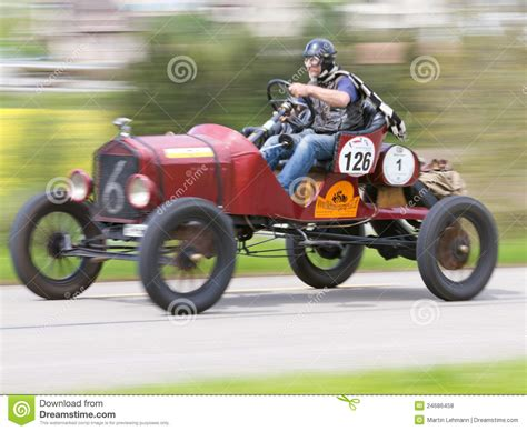 Vintage Pre War Race Car Ford T Racer From 1918 Editorial