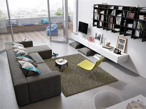 Awesomely Stylish Urban Living Rooms