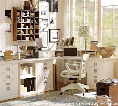 how to design an office with pottery barn bedford furniture and a laser all in one printer for