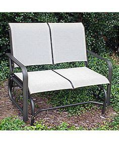 post country garden patio glider with