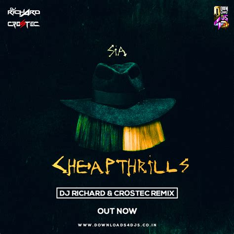 Cheap Thrills Remix by Cheap Thrills Dj Richard Crostec Remix Downloads4djs