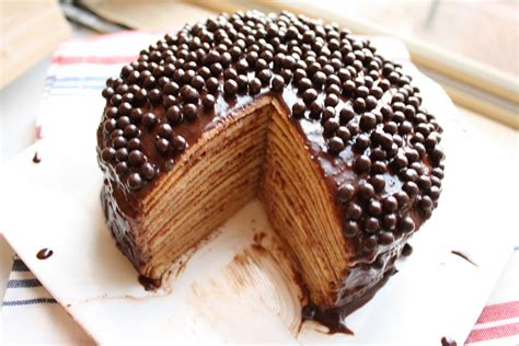 chocolate crepe cake happy birthday a cake for you hummingbird high