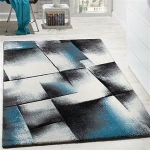 Teppich Wohnzimmer Grau : wohnzimmer teppich kurzflor t rkis grau design teppiche ~ Markanthonyermac.com Haus und Dekorationen