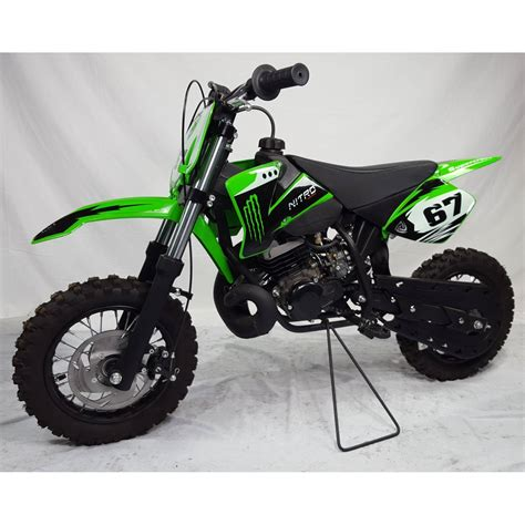 MOTO CROSS NRG 50cc  1010 pouces  Quad Custom