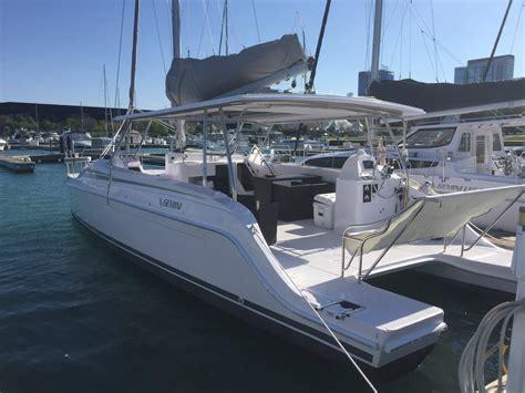 Catamaran For Sale Great Lakes by Gemini Freestyle 37 Catamaran Great Lakes Sailing Co