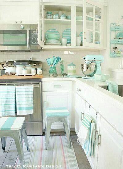 Blue Kitchen Decor Matching Kitchen Aid  My Future House