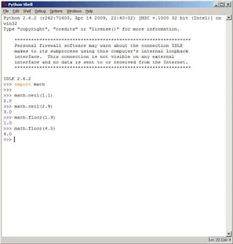 johan louwers tech python math ceil and math floor