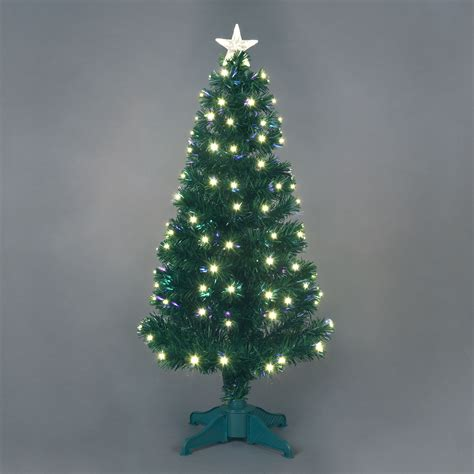 Fibre Optic Christmas Trees Ebay by White Christmas Tree 6ft Find It For Less