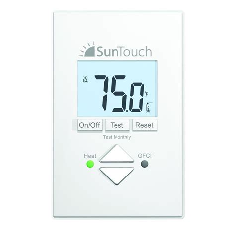 100 easy heat warm tiles thermostat