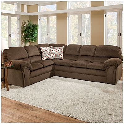 simmons bebop 2 chocolate sectional big lots