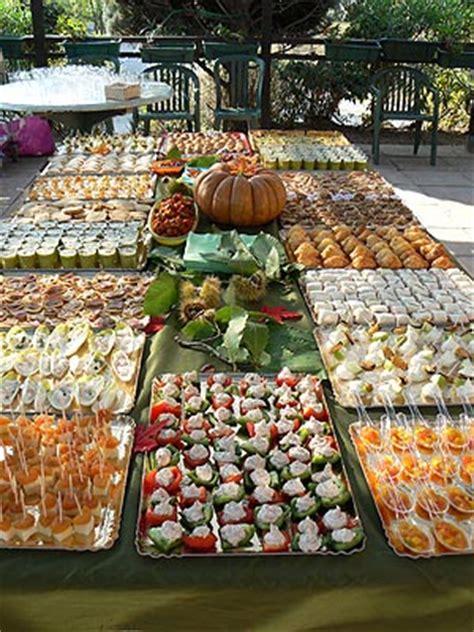 un buffet d automne pour 120 personnes