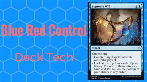 magic the gathering blue standard deck tech