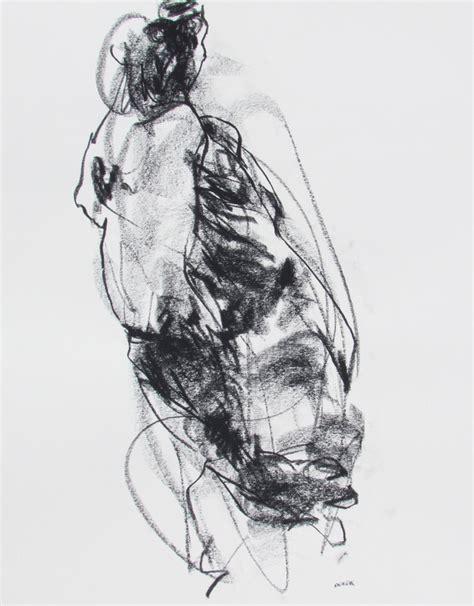 4 recent contemporary charcoal figure drawings 249 252 derek overfield