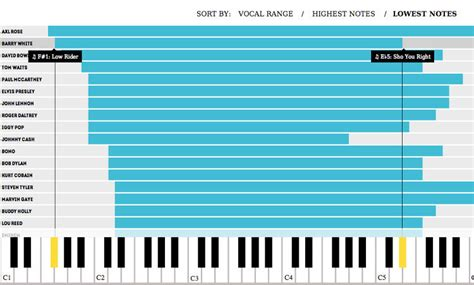 infographic the vocal ranges of your all time favorite singers visualized co create
