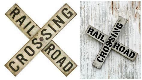Diy Vintage Railroad Sign  Knick Of Time. 12 Week Signs. Sign On Signs. God Signs. Roadway Signs Of Stroke. Safe Driving Signs. White Coating Signs. Street Furniture Signs Of Stroke. Draxe Signs