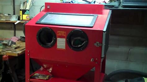 central pneumatic sandblaster cabinet parts mf cabinets