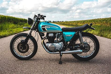 T Is For Trouble. 'the Rascal' Restomod Honda Cb360t From