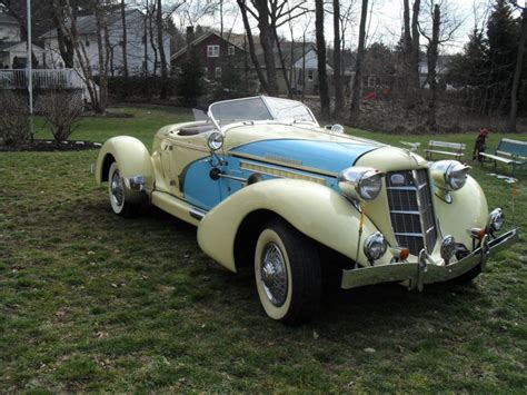 Boat Tail Car For Sale by 1936 Auburn Boattail Speedster Replica Ford Powered For Sale