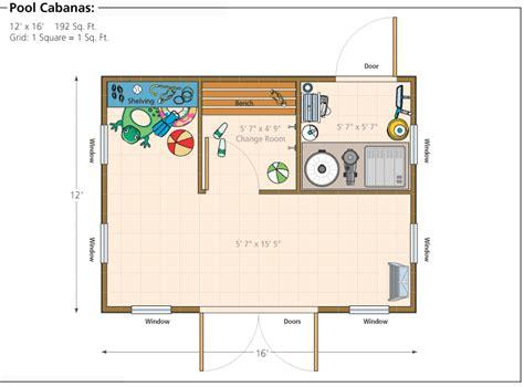 pool house floor plans or by floor plans 16 cabana diykidshouses