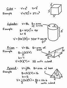 Volume of Basic Shapes – Learning Algebra Can Be Easy!