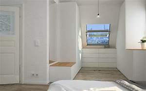 Offener Schrank Vorhang : begehbarer kleiderschrank im schlafzimmer meine m belmanufaktur ~ Markanthonyermac.com Haus und Dekorationen