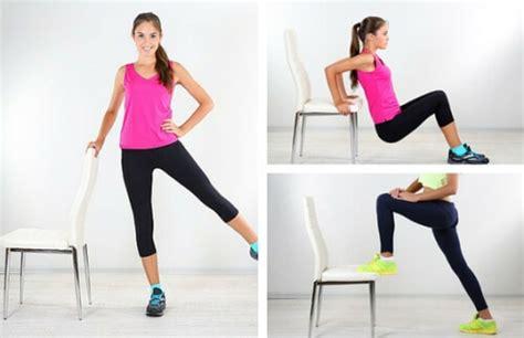 6 exercices que vous pouvez faire avec une chaise pour r 233 duire les poign 233 es d amour am 233 liore
