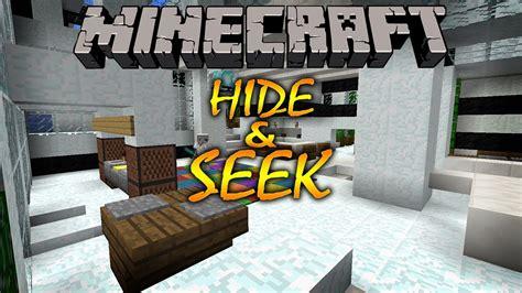 Minecraft Minigame Hide & Seek ! Wstrauberryjam Youtube