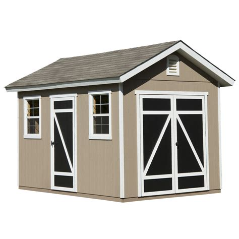 shop heartland hillsdale gable engineered wood storage shed common 8 ft x 12 ft interior