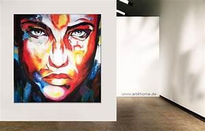 Bilder Auf Leinwand Kaufen : colourful face acryl leinwand 140 140 cm original 990 euro art4berlin kunstgalerie ~ Markanthonyermac.com Haus und Dekorationen