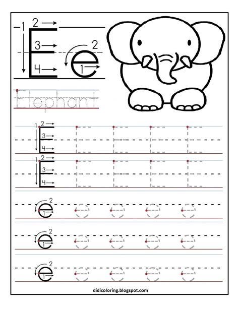Free Printable Worksheet For Kidsbest For Your Child To Learn And Write
