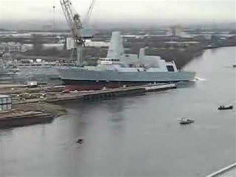 Boat Launch Gone Bad by Launch Of Hms Dauntless Youtube
