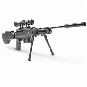 Black Ops Tactical Break Barrel Gas Piston Sniper Air ...
