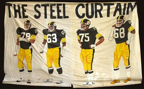 iconic steel curtain banner brings 57 500