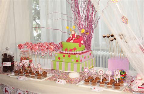 f 233 e une sweet table d anniversaire f 233 233 rique et color 233 e