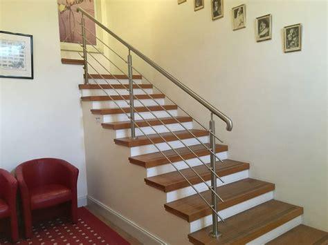 fabrication d escalier en bois avec garde corps en gironde entreprise de menuiserie g 233 n 233 rale 224