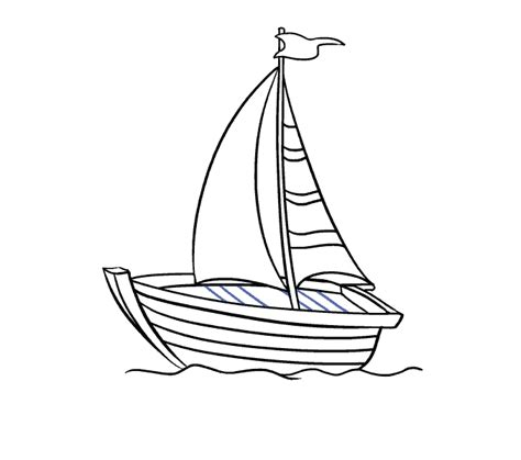 How To Draw A Dragon Boat by Easy Cartoon Ships Wiring Diagram And Fuse Box